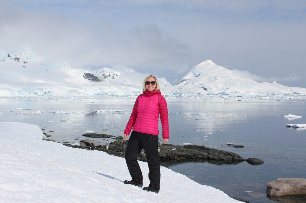 Työmatkalla Etelämantereella