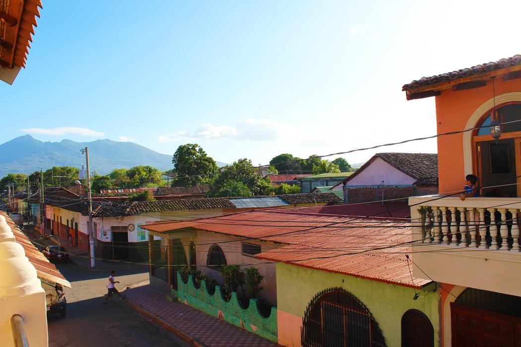 Granada balcony view