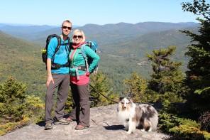 Telttailua New Yorkin Adirondacks vuorilla