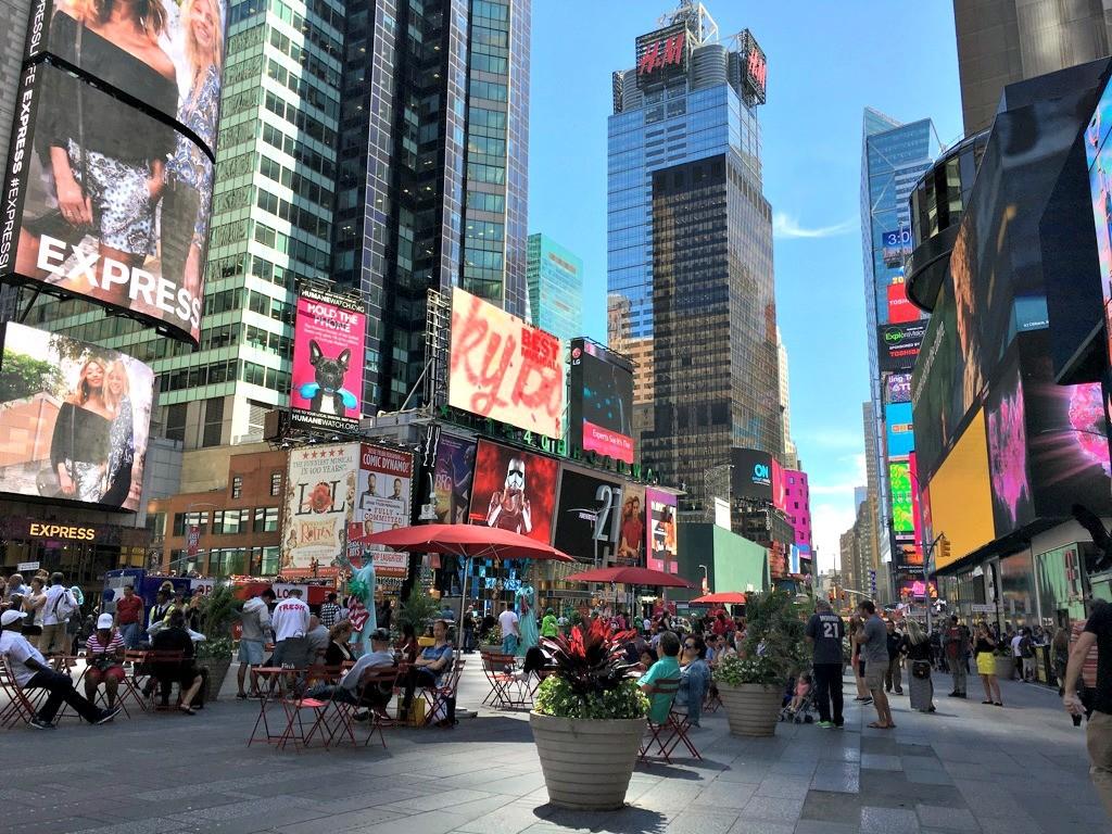 Kuva New Yorkin Times Squarelta