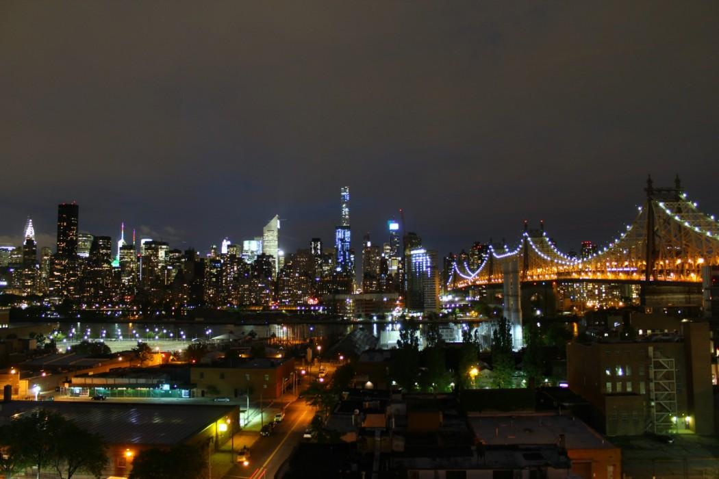 Manhattan view from hotel