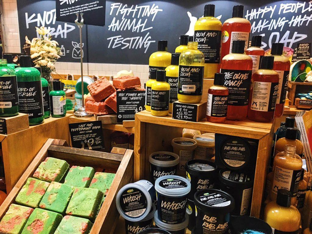 Lush tuotteet