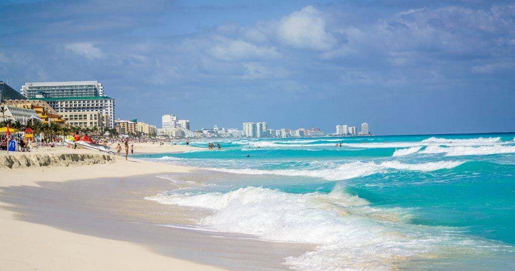 Cancun beach #ReilutBlogit