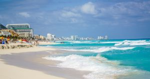 Cancun beach #ReilutBlogit