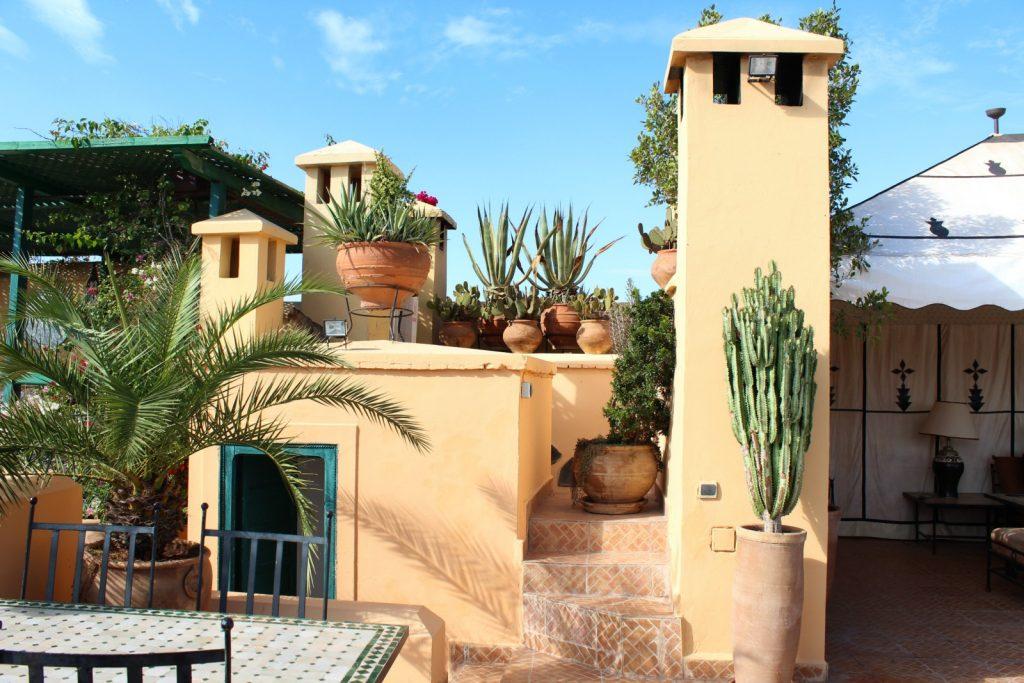 Kuva marokkolaisesta riadista