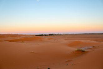 Kuva Saharan aavikolta
