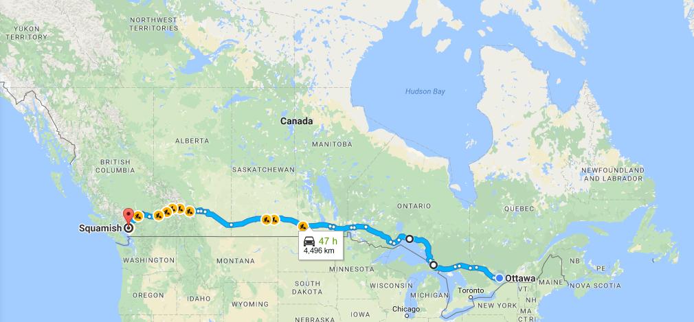 Automatka Kanadan halki