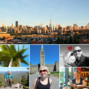 Photo collage from abroad