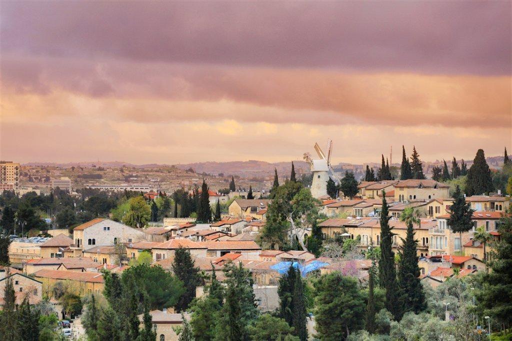 Vaeltaminen Israelissa